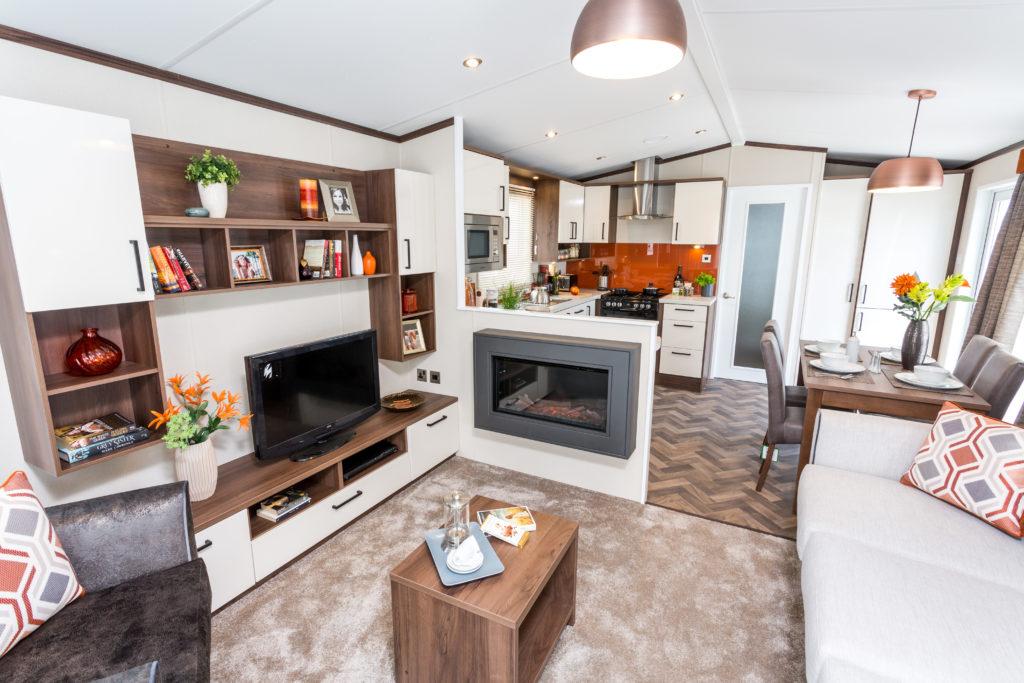 Holiday Homes For Sale At Bunn Leisure - Pemberton Rivington - Living Area