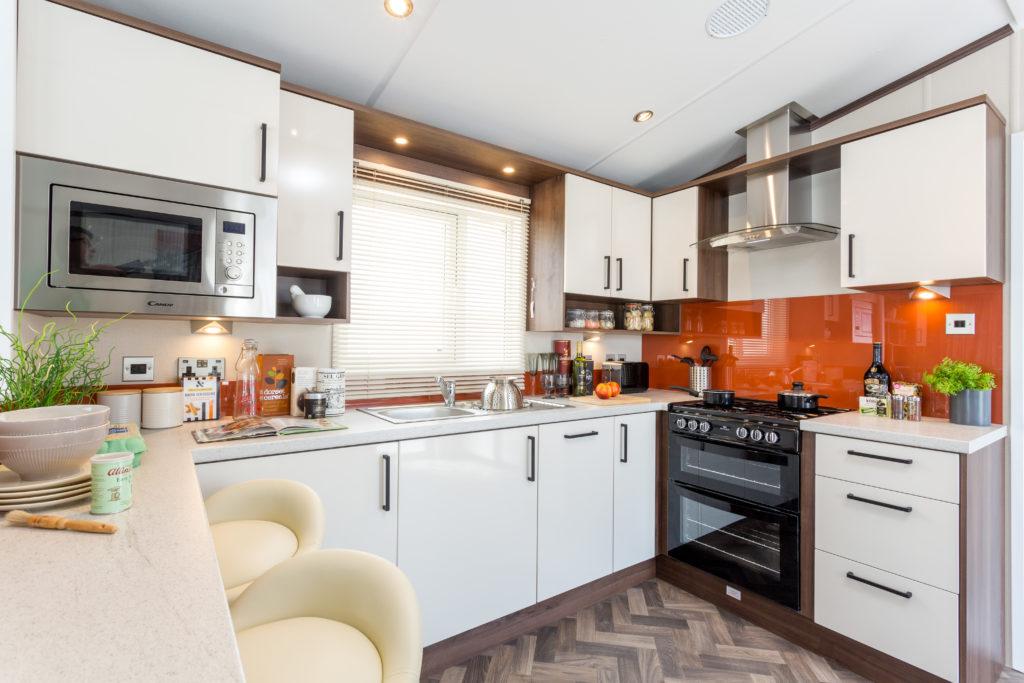 Holiday Homes For Sale At Bunn Leisure - Pemberton Rivington - Kitchen