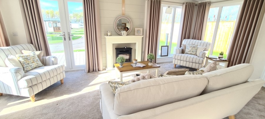 Holiday Homes For Sale At Bunn Leisure - Prestige Burleigh - Lounge
