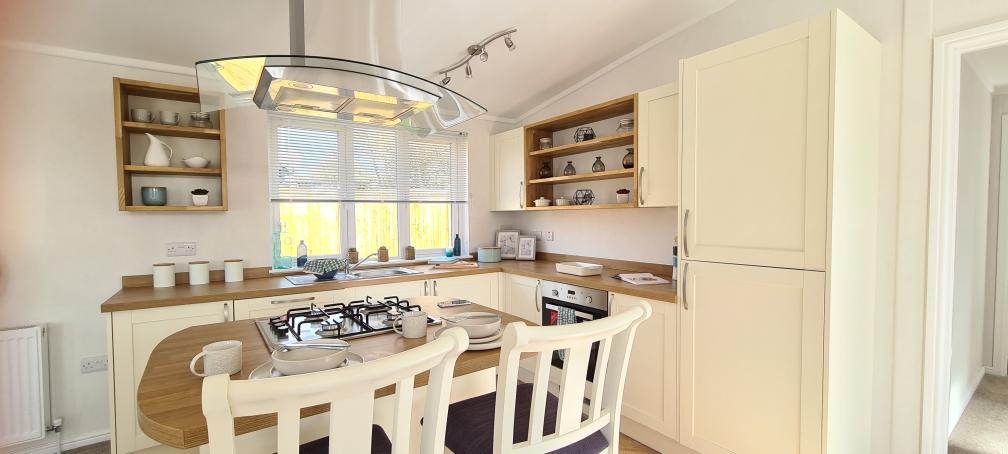 Holiday Homes For Sale At Bunn Leisure - Prestige Burleigh - Kitchen