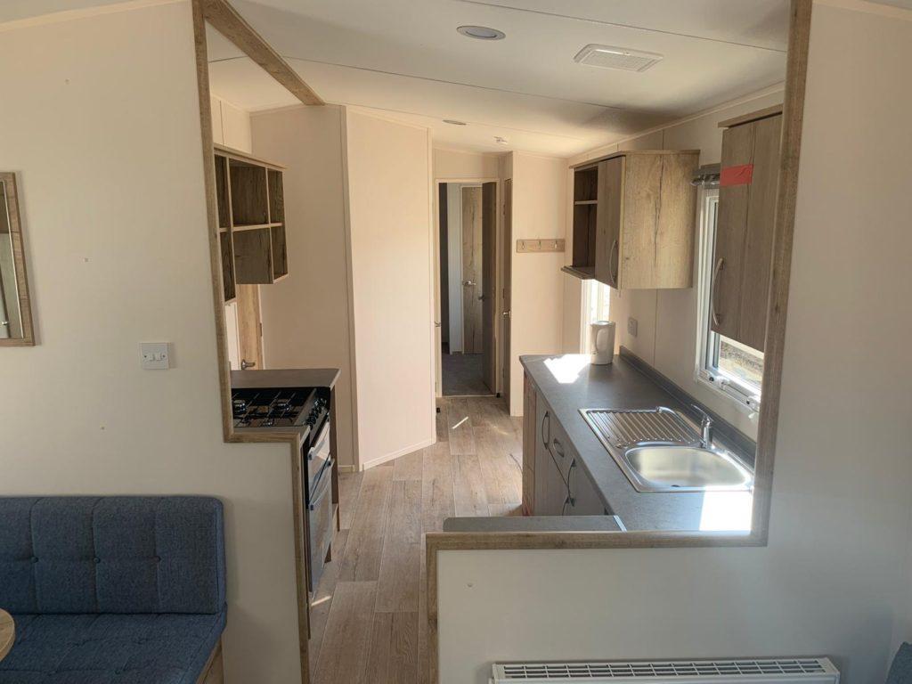 Holiday Homes For Sale At Bunn Leisure - ABI Arizona Premier - Kitchen