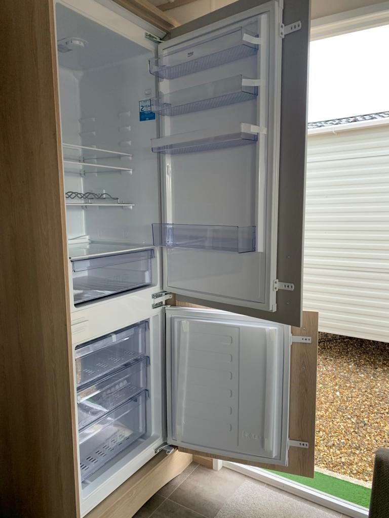 Holiday Homes For Sale At Bunn Leisure - ABI Beverley - Fridge Freezer