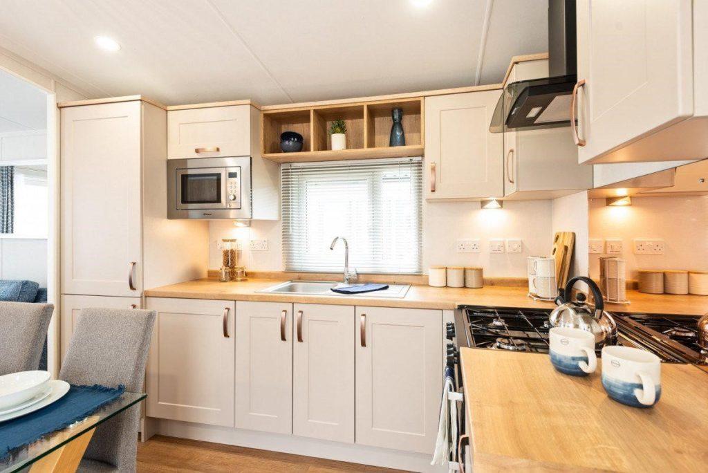 Holiday Homes For Sale At Bunn Leisure - Sunseeker Spirit - Kitchen
