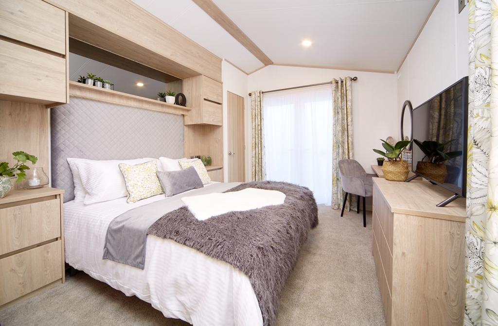 Bunn Leisure Properties For Sale - Atlas Jasmine Lodge - Bedroom